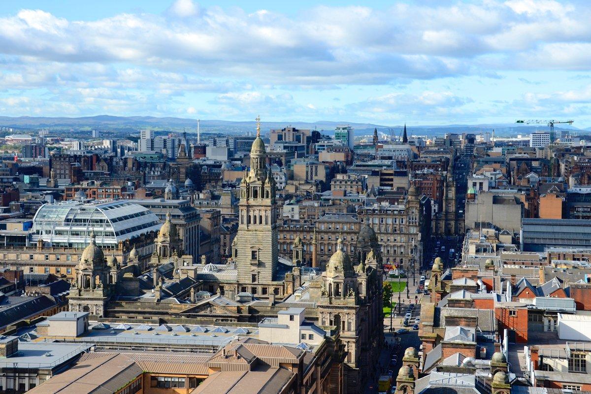 Glasgow city centre location